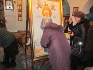 В село Чишмикиой прибыли мощи блаженной Матроны Московской (Фото)