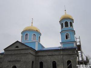 В Чишмикиое продолжаются строительные работы по возведению храма