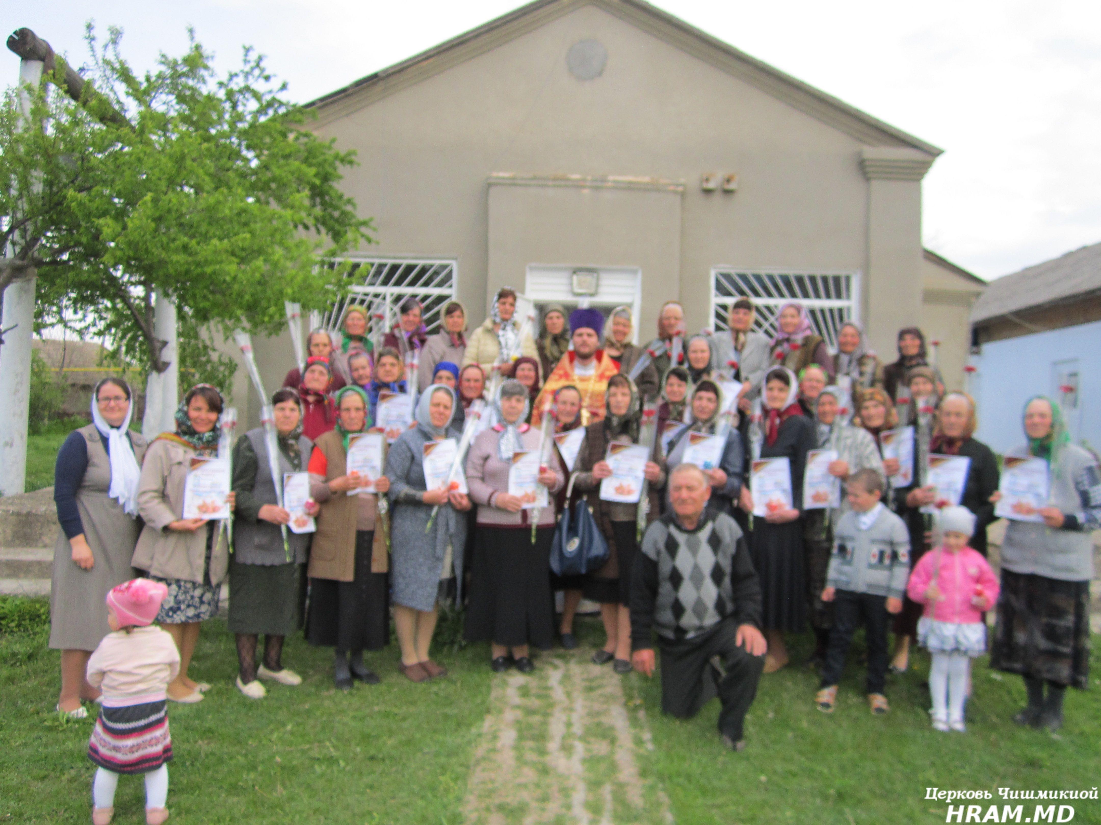Православный женский день, жен-мироносиц отметили в храме Чишмикиой