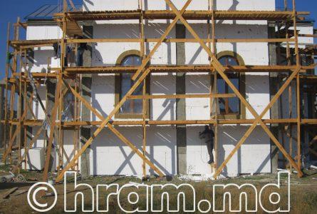 Фотоотчет строительных работ. Летне-осенний период