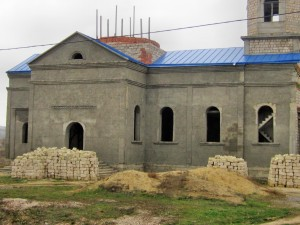 Строительство Храма в селе Чишмикиой