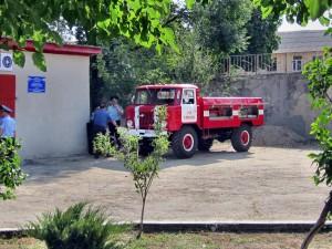 Открытие пожарного поста в Чишмикиое