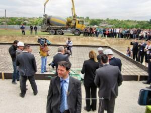 Заложен первый камень нового детского сада в селе Чишмикиой