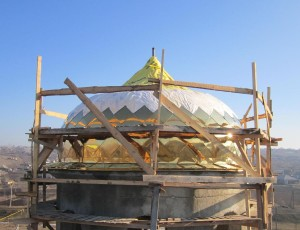 Строительство храма Чишмикиой