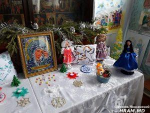 Рождественская выставка церковной школы Чишмикиой