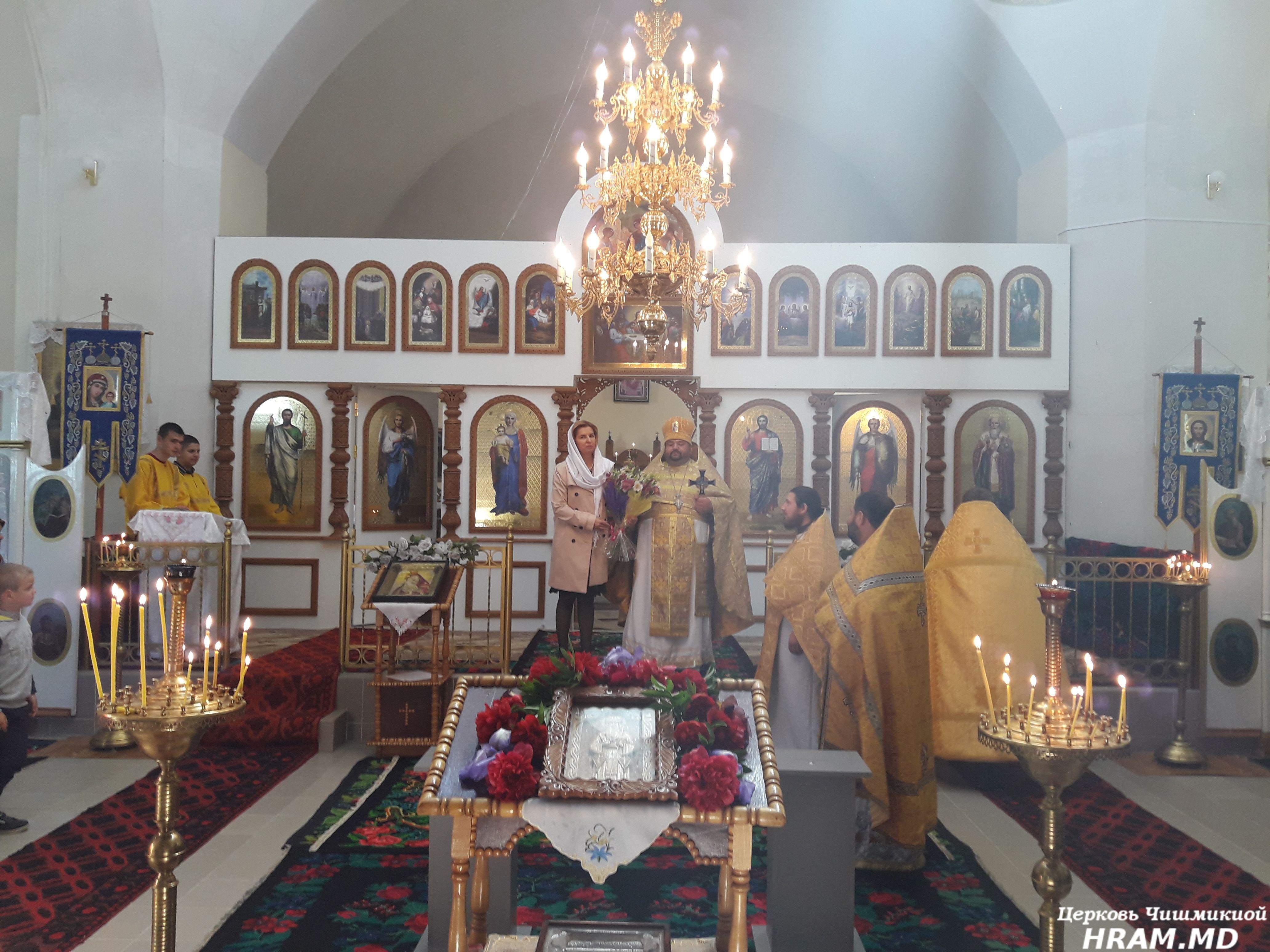 Престольный праздник отметил приход в селе Этулия