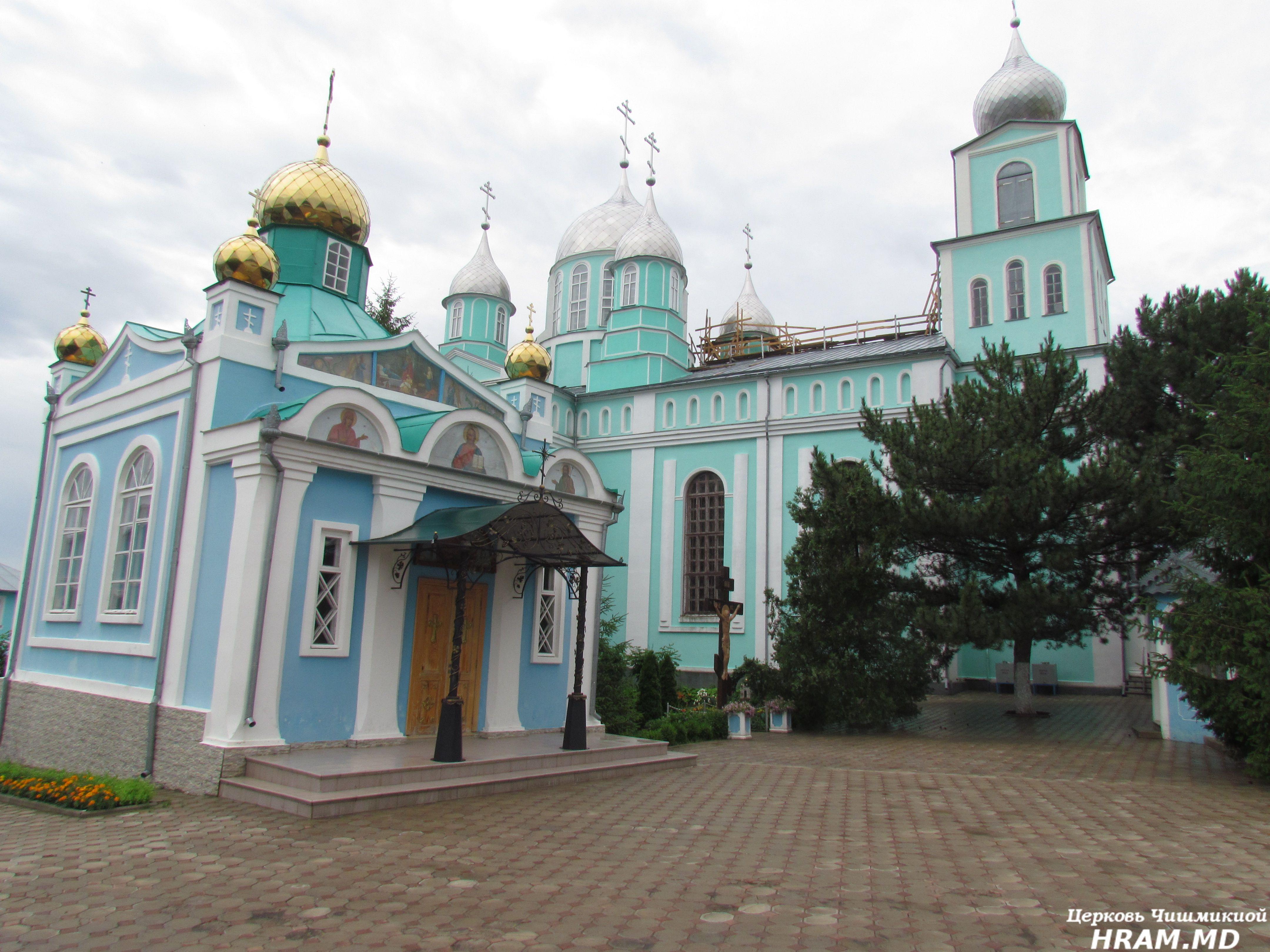 Прихожанами храма села Чишмикиой было совершено паломничество в Рождество-Богородичный монастырь