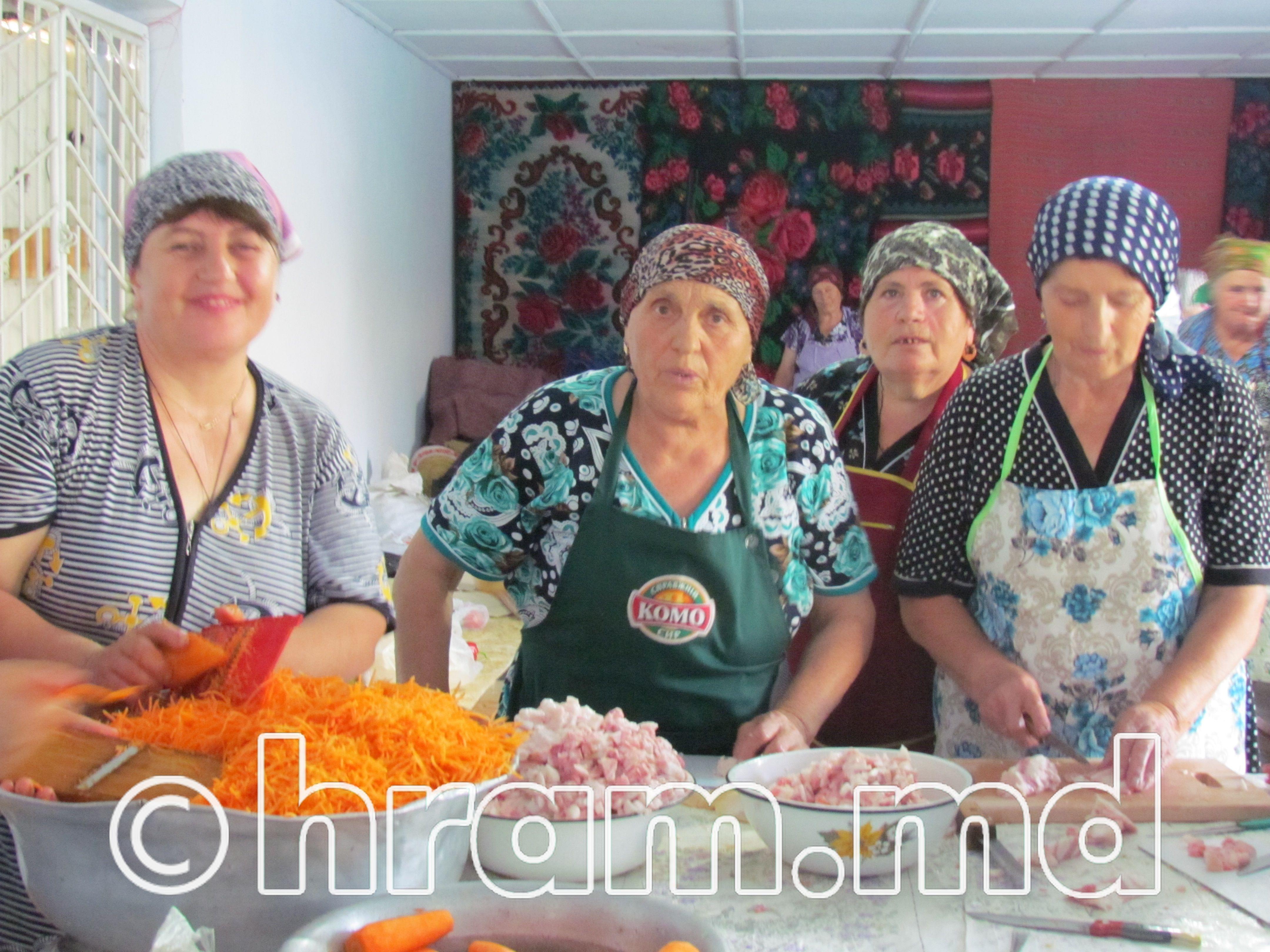 Подготовка к празднованию храма села Чишмикиой