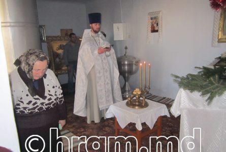 Как готовились и праздновали Рождество в храме села Чишмикиой