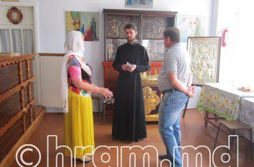 Глава Вулканештского района посетила строящийся храм в селе Чишмикиой