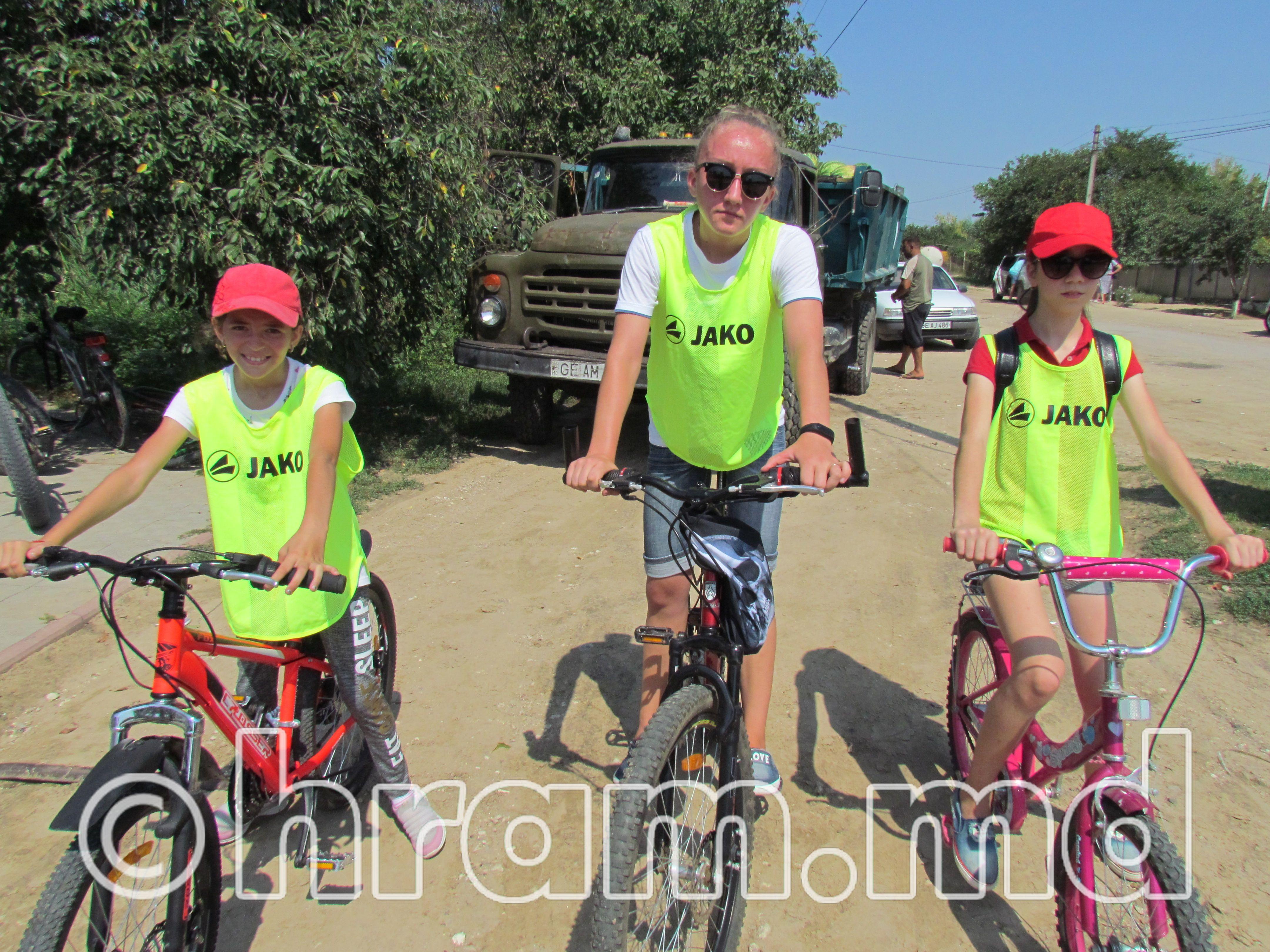 19 августа в Чишмикиое был организован велопробег