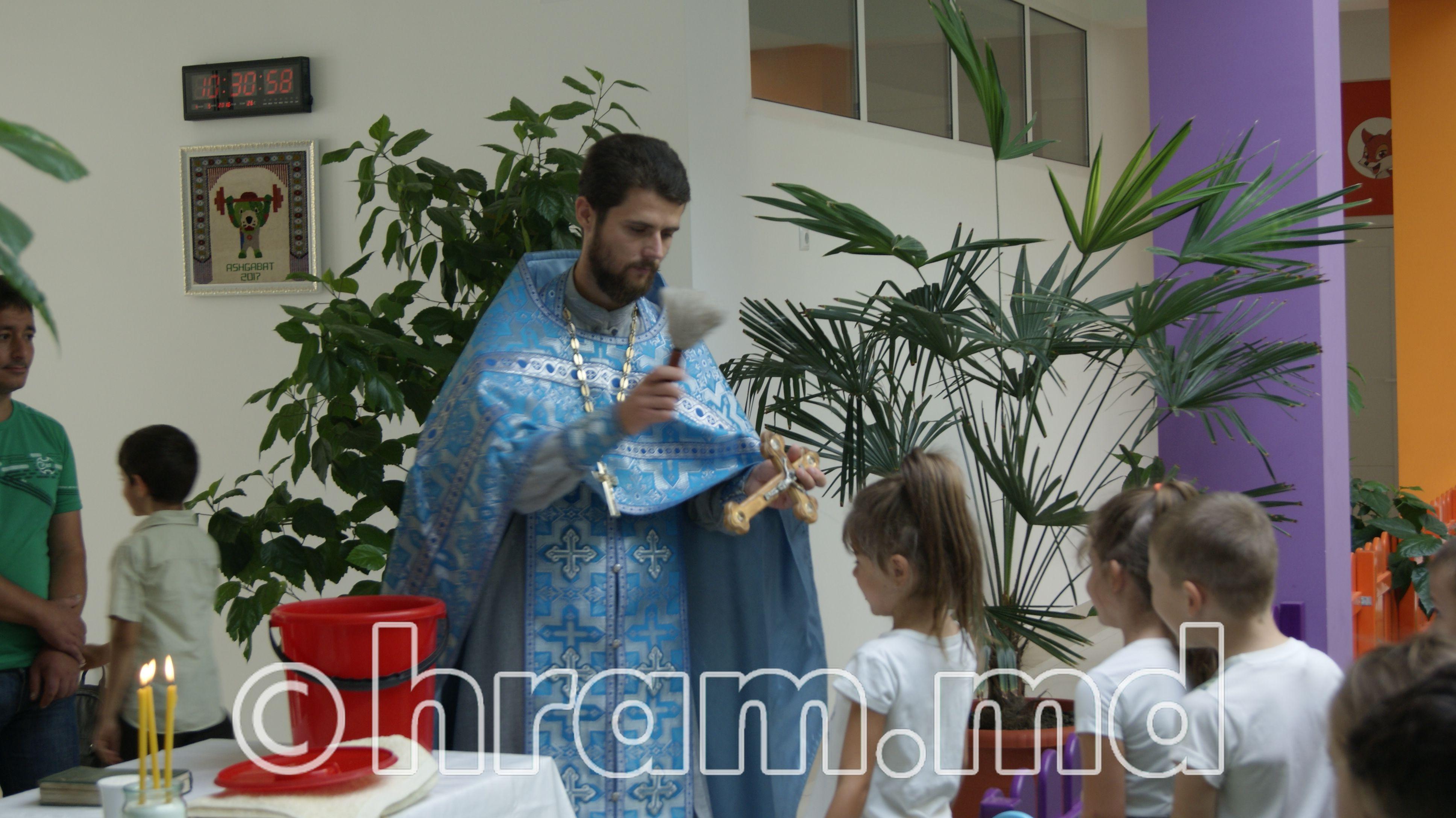 Молебен перед началом учебного года в детсаде Достлук