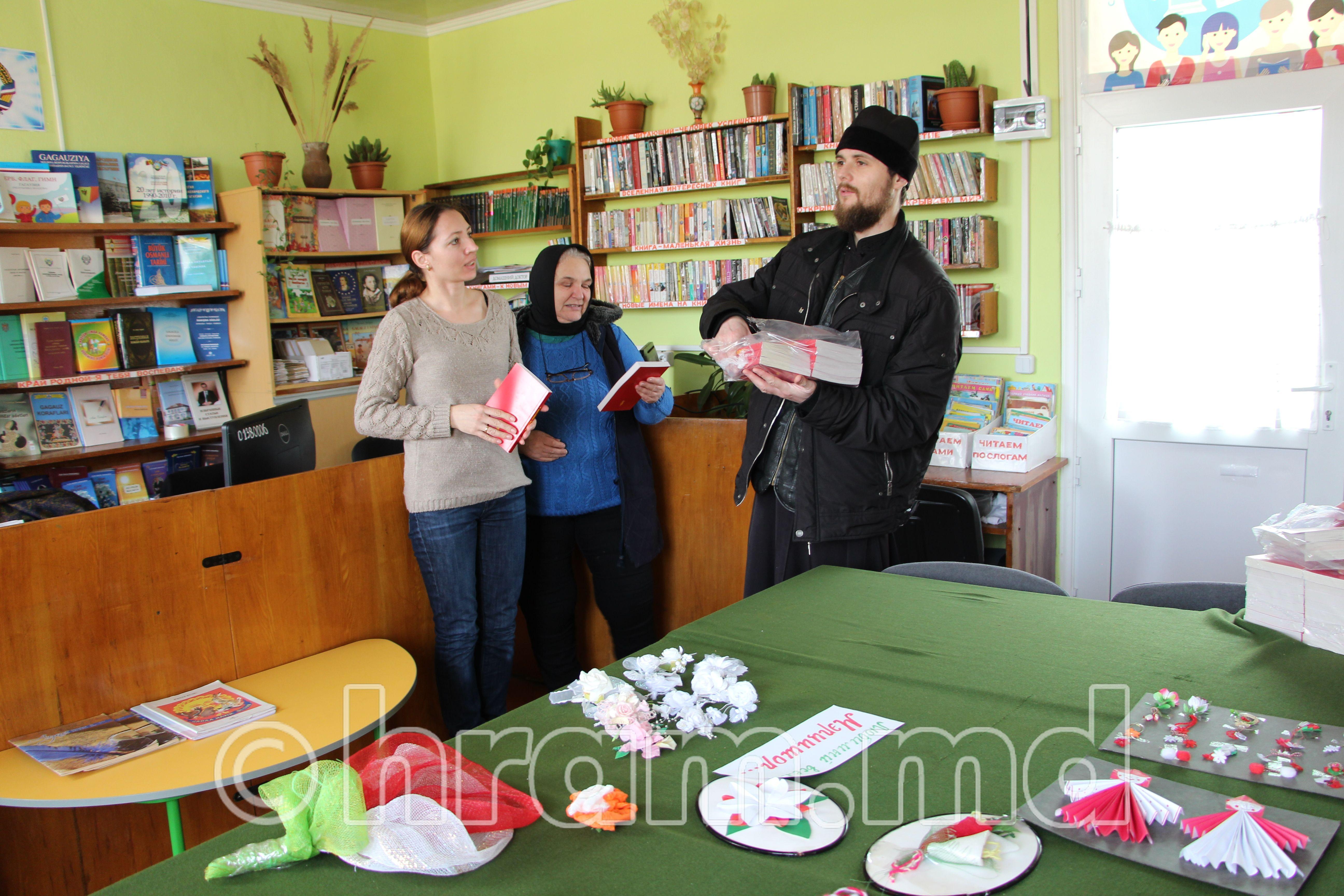 В селе Чишмикиой прошла акция «Святое Евангелие в каждый дом»
